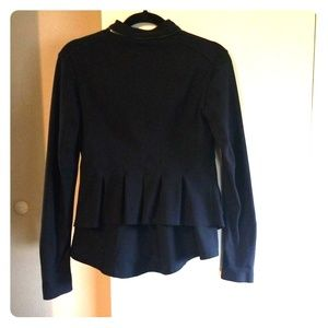Lululemon Black Ruffle Jacket 6